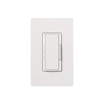 LUTRON ELECTRONICS - MRF2-6CL-WH - Dimmer para iluminación CFL/LED o Incandescente/Halogeno 600 Watt Max blanco