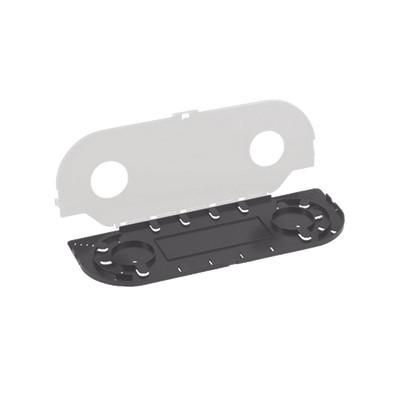 PANDUIT - FOSMF - Charola de Empalme para Fibra Óptica Para Protección de 24 Empalmes de Fusión o Mecánicos Compatible con los Paneles FCEU
