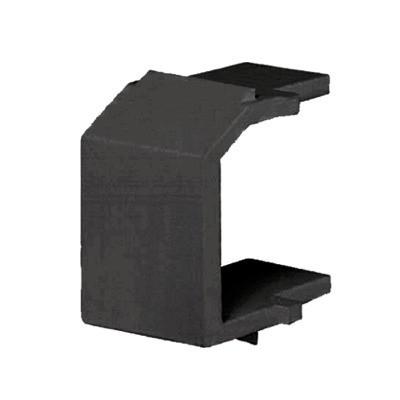 PANDUIT - NKBMBL-X - Módulo de tapa ciega (Inserto Ciego) Tipo Keystone Color Negro