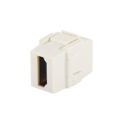 PANDUIT - NKHDMIIW - Módulo Acoplador HDMI 2.0 Hembra a Hembra Tipo-A Categoría 2 Keystone Color Blanco Mate