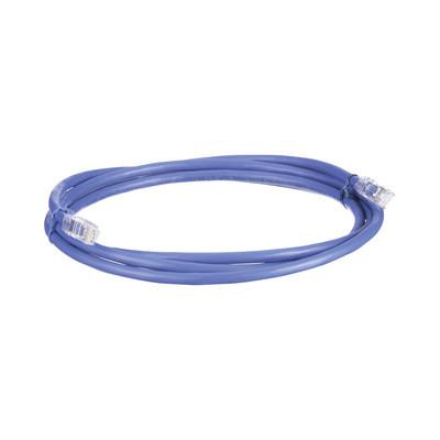 PANDUIT - UTP6AX5BU - Cable de Parcheo UTP Cat6A 24 AWG CM Color Azul 5ft