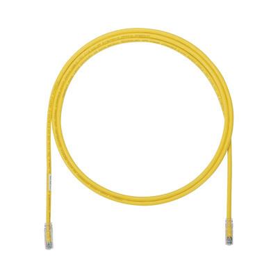 PANDUIT - UTP6AX5YL - Cable de Parcheo UTP Cat6A 24 AWG CM Color Amarillo 5ft