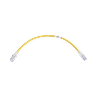 SIEMON - MC6-01-05 - Patch Cord MC6 Modular Cat6 UTP CM/LS0H 1ft Color Amarillo