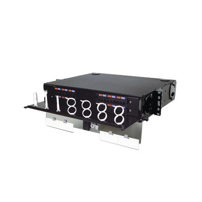 SIEMON - RIC3-24-01 - Panel de Conexión de Fibra Óptica (RIC3) Para Rack de 19in Acepta 4 Placas Quick Pack Hasta 96 Fibras 2 UR