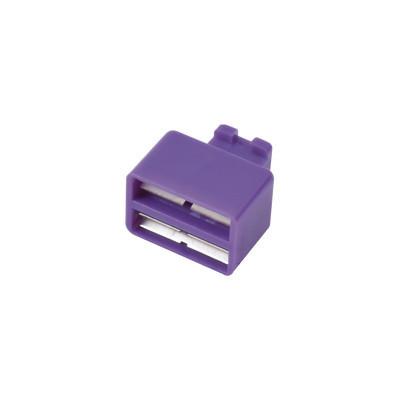 SIEMON - SMBC-2-8 - Clip de Puente Para Uso con Regletas S66 de 1 par Color Violeta