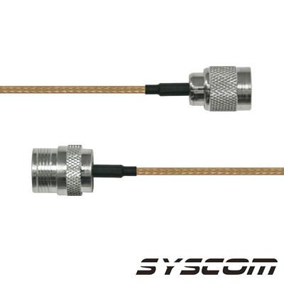 EPCOM INDUSTRIAL - SNH-142-TNCI-60 - Cable RG142 con conectores N Hembra en un extremo y en el otro TNC Macho Inverso.