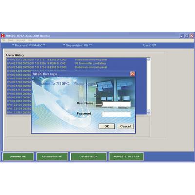 HONEYWELL HOME RESIDEO - 7810PC-AM - Software de Recepcion de Eventos de Alarma por IP o 3G/4G No requiere IP Publica Fija o Servicios de Nombres de Dominio DDNS