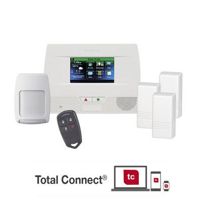 HONEYWELL HOME RESIDEO - L5210-PK - Panel de Alarma Inalambrico Autocontenido con Pantalla Touch L5210 integrable a casa inteligente usando servicio de Total Connect