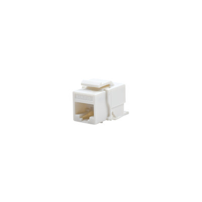 LINKEDPRO - LP-KJ-610-WH - Módulo Jack Cat6 sin herramienta (toolless) para faceplate keystone - Color Blanco