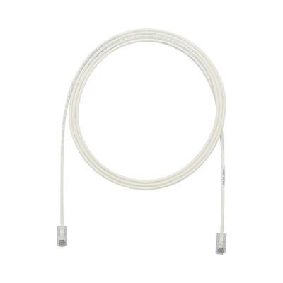 PANDUIT - UTP28X10 - Cable de Parcheo UTP Cat6A CM/LSZH Diámetro Reducido (28AWG) Color Blanco Mate 10ft