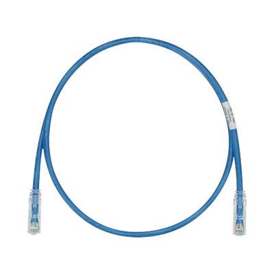 PANDUIT - UTPSPL1MBUY - Cable de Parcheo TX6 UTP Cat6 24 AWG LSZH Color Azul 1 metro