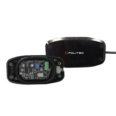 Politec - GAPID-6 - Sensor Inteligente Universal / Anti-trepa de intrusos / Para muros mallas ciclonicas rejas paredes andamios etc / Sin falsas alarmas /Protección de 5 metros de diámetro / Integración con cualquier panel de alarma / Cableado