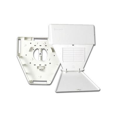 SIEMON - CT-MMO-02 - Salida Multiusuario de Telecomunicaciones (MUTOA) con tornillos de montaje y cinta adhesiva acepta 6 acopladores CT color blanco