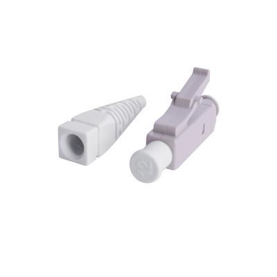 SIEMON - FC1-LC-MM-B80 - Conector de Fibra Óptica LC Simplex Para Instalación en Campo Multimodo Fibra recubierta Color Beige