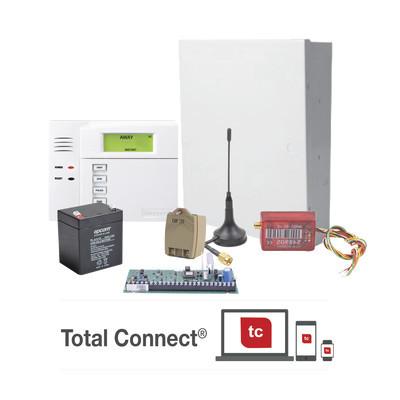 HONEYWELL HOME RESIDEO - VISTA48/6150TB4G - Super Kit de Panel VISTA48LA con Teclado 6150 Transformador y Comunicador MN02LTEMV3
