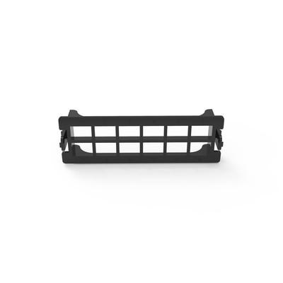 LINKEDPRO - LP-FO-D12 - Placa acopladora vacía para Distribuidor de Fibra Óptica LP-ODF-8024 acepta 12 acopladores SC simplex o 12 acopladores LC Duplex color negro