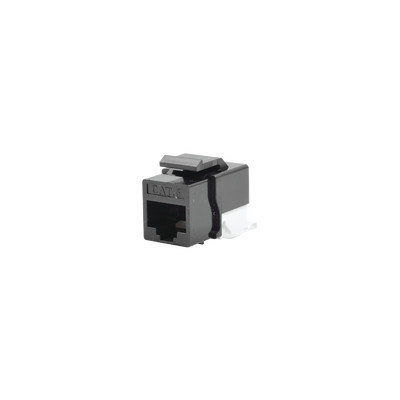 LINKEDPRO - LP-KJ-610-BK - Módulo Jack Cat6 sin herramienta (toolless) keystone - Color Negro