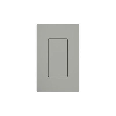 LUTRON ELECTRONICS - DV-BI-GR - Tapa ciega color gris.