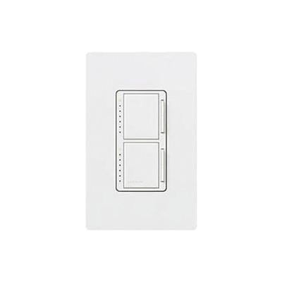 LUTRON ELECTRONICS - MA-L3L3-WH - Maestro Dimmer dispositivo dual un solo polo 120V 300W