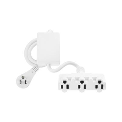 LUTRON ELECTRONICS - MRF2-15APS-3-WH - PowPak plug-in para aparato electronico 15A