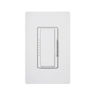 LUTRON ELECTRONICS - MSCF6AMWH - Maestro Dimmer 120V Fluor color blanco.