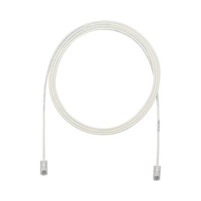 PANDUIT - UTP28X20 - Cable de Parcheo UTP Cat6A CM/LSZH Diámetro Reducido (28AWG) Color Blanco Mate 20ft