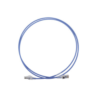 SIEMON - MC6-05-0628 - Patch Cord MC6 Modular Cat6 UTP CM/LS0H 5ft Color Azul Diámetro Reducido (28AWG)