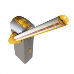CAME - KT-GARD4-LED - Kit de barrera GARD 4 con mástil Italiano / Izquierda y derecha configurable en campo / Incluye Iluminación LED Rojo/Verde / Pluma de 3.75 m / Cúpula con iluminación LED / Resorte Rojo CAME