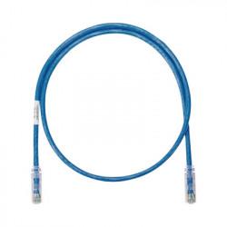 PANDUIT - NK6PC1BUY - Cable de parcheo UTP Categoría 6 con plug modular en cada extremo - 1 ft (30.48 cm) - Azul