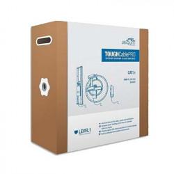 UBIQUITI NETWORKS - TCPRO/1000 - Bobina de cable de 305 metros Cat5e exterior blindado color negro ideal para proteger tu red de ambientes extremos y descargas electrostáticas