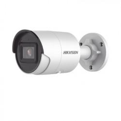 HIKVISION - DS-2CD2043G2-I(U) - Bala IP 4 Megapixel / Lente 2.8 mm / 40 mts IR EXIR / Exterior IP67 / WDR 120 dB / PoE / Micrófono Integrado / Videoanaliticos (Filtro de Falsas Alarmas) / Ultra Baja Iluminación