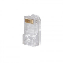 LINKEDPRO - TC-6 - Conector RJ45 para cable UTP categoría 6