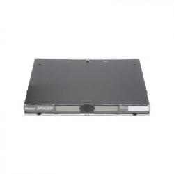 PANDUIT - FRME1U - Panel de Distribución de Fibra Óptica Acepta 3 Placas FAP o FMP Bandeja Deslizable Hasta 72 Fibras Color Negro 1UR