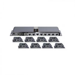 EPCOM TITANIUM - TT718PRO - Kit completo; Distribuidor de 1 entrada HDMI a 8 salidas a 1080p