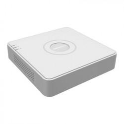 HIKVISION - DS-7104HGHI-F1 - DVR 1080P lite / 4 Canales TURBOHD + 1 Canal IP / 1 Bahía de Disco Duro / H.264+ / 1 Canal de Audio / Salida de vídeo Full HD