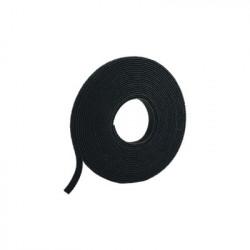 PANDUIT - HLS-15R0 - Rollo de Cinta de Contacto de 15 Pies (4.5m) de Largo 19.1 mm de Ancho Color Negro
