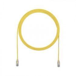 PANDUIT - UTP28X3YL - Cable de Parcheo UTP Cat6A CM/LSZH Diámetro Reducido (28AWG) Color Amarillo 3ft