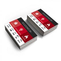 Syscom - TARALARMAS18/200P - Tarjetas de Presentación Intrusión y Automatización (Paquete de 200 tarjetas)