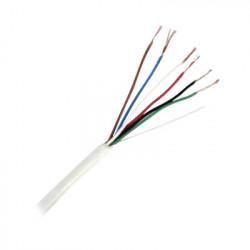 VIAKON - 92-62 - Bobina de cable de 152 metros de 3 pares calibre 20 blindado para aplicaciones en control de acceso audio e instrumentación
