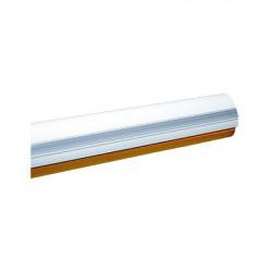 CAME - 001-G03750 - G03750 Mástil de semi-tubular para KX-BG-GA 4 metros Color blanco semi elíptico