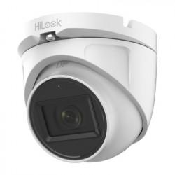 HiLook by HIKVISION - THC-T120-MS - Turret TURBOHD 2 Megapixel (1080p) / Gran Angular 106° / Lente 2.8 mm / Audio por Coaxitron / 30 mts IR EXIR / Exterior IP66 / 4 Tecnologías / dWDR