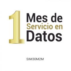 M2M SERVICES - VOUCHER1M-SIM30M2M - (VOUCHER) Mes de Servicio para SIM SIM30M2M (25MB)