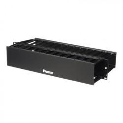 PANDUIT - WMP1E - Organizador de Cables Horizontal PatchLink Doble (Frontal y Posterior) Para Rack de 19in 2UR