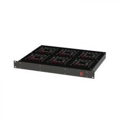 """LINKEDPRO - EI-RAR-12V6 - Ventilador para Rack 19"""" con 6 Abanicos. Entrada: 110 Vca"""