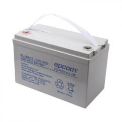 EPCOM POWERLINE - PL-100-12 - Acumulador Tecnología VRLA AGM 12 V 100 Ah para Aplicación Fotovoltaica