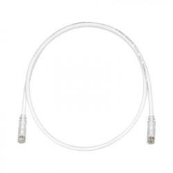 PANDUIT - UTPSP30Y - Cable de Parcheo TX6 UTP Cat6 24 AWG CM/LSZH Color Blanco Mate 30ft