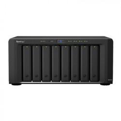 SYNOLOGY - DS-1815-PLUS - Servidor NAS de escritorio con 8 bahías / Expandible a 18 bahías / Hasta 216 TB
