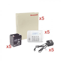 HONEYWELL HOME RESIDEO - VISTA48-KIT5 - Kit de 5 Paneles VISTA48 con Bateria y Transformador