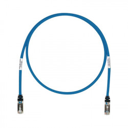 PANDUIT - STP6X3BU - Patch Cord Cat6A Blindado S/FTP CM/LS0H 3ft Color Azul