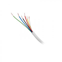 HONEYWELL HOME RESIDEO - 1107-1101/1000 - Bobina de 305 metros de cable Uso INTEMPERIE 22 AWG 3 pares de color blanco para aplicaciones de alarmas de intrusión y automatización.